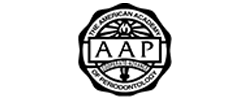 American Academy of Periodontology Logo to show that this dentist in Seattle in a member of this organization